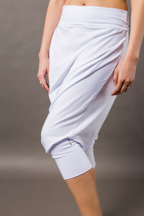 Phanes fashion baggy pants white side